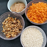 胡萝卜香菇鸡肉粥#魔膳师地方美食赛#(吉林)的北华大学美食广州图片