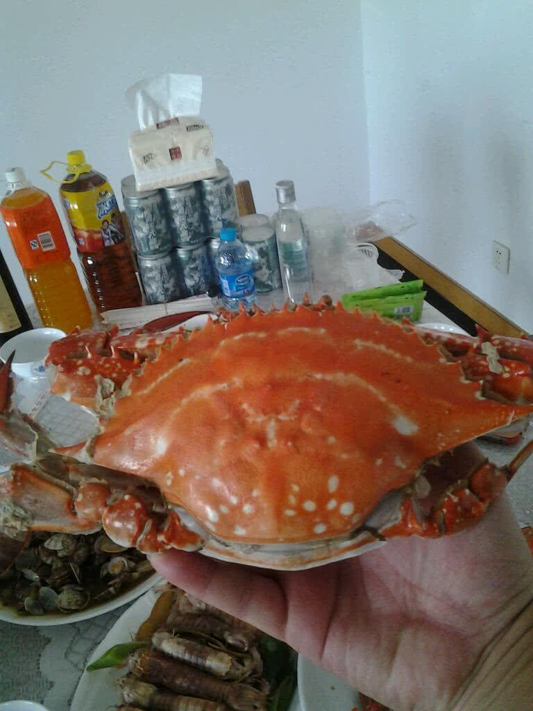 清蒸海螃蟹的做法图解2