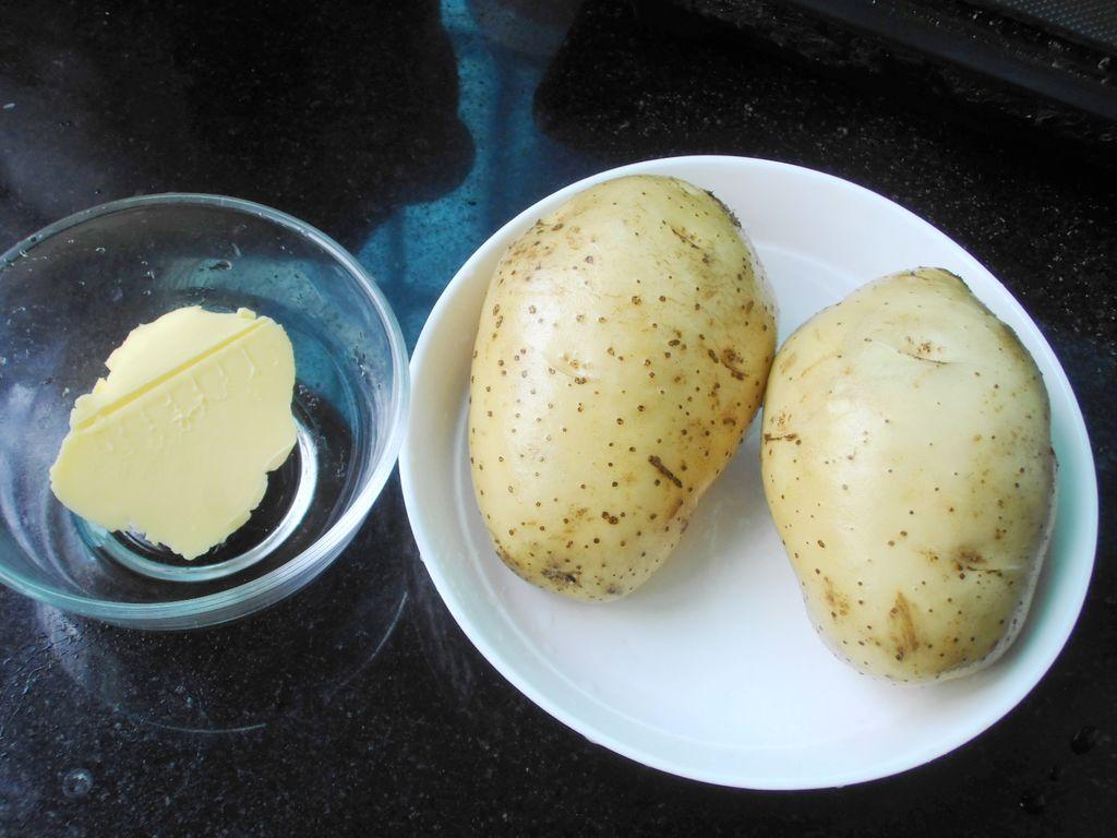 土豆和黄油图片