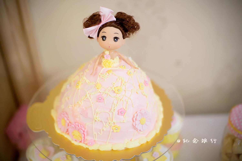 萌萌哒洋娃娃奶油蛋糕做法