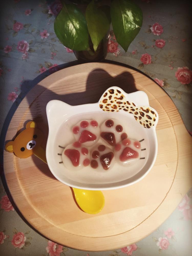 猫爪汤圆的做法_【图解】猫爪汤圆怎么做如何做好吃