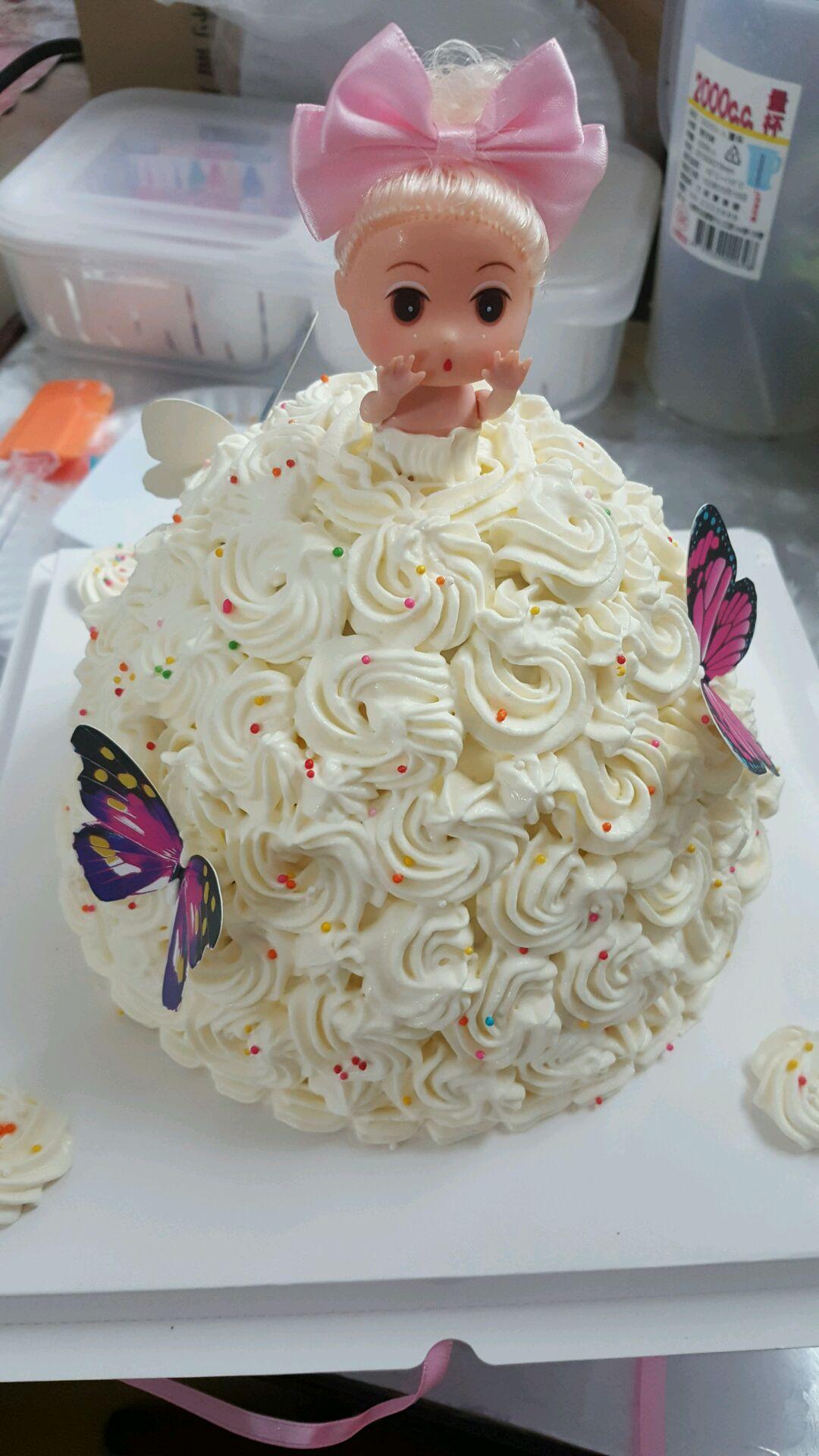 蛋糕花纸手工制作图片