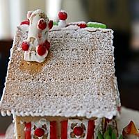 童话世界-圣诞姜饼屋和圣诞树的做法图解30