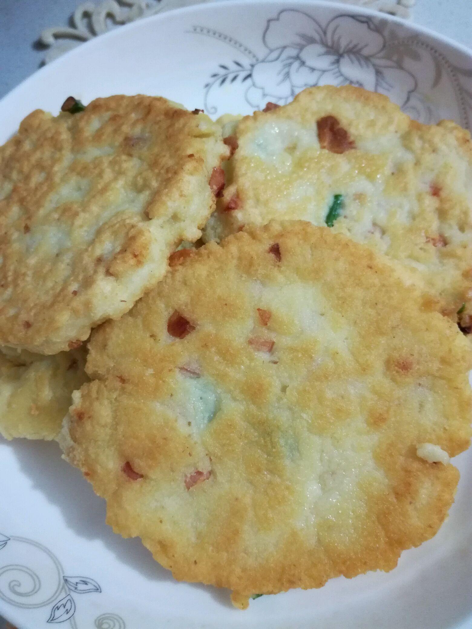 鸡蛋豆渣饼的做法_【图解】鸡蛋豆渣饼怎么做如何做