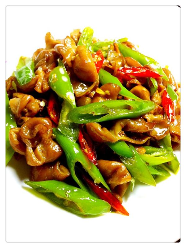 尖椒肥肠的做法_【图解】尖椒肥肠怎么做好吃