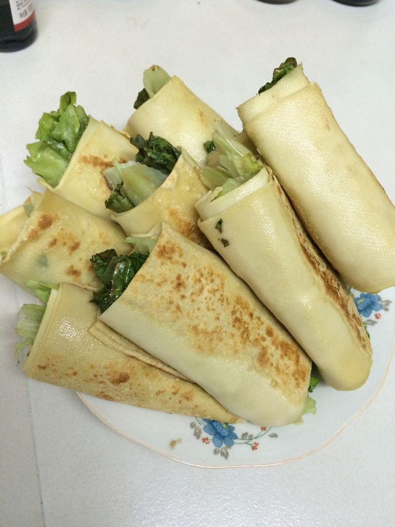 豆皮卷的做法_【图解】豆皮卷怎么做如何做好吃_豆皮
