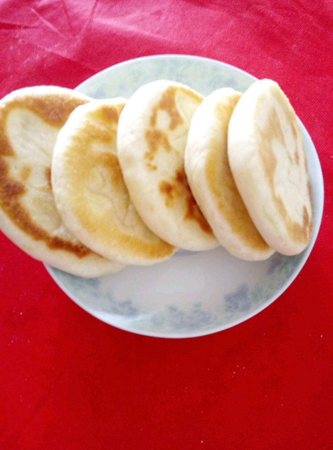 【美味面食】发面饼的做法_【图解】【美味面食】发做