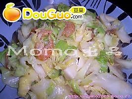 虾米椰菜的做法