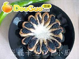 糯米花饼的做法
