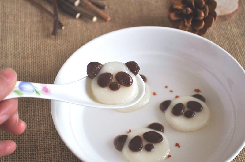 熊猫汤圆(元宵)