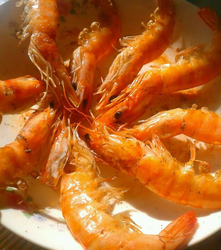 盐烧大虾的做法_【图解】盐烧大虾怎么做如何做好吃图片