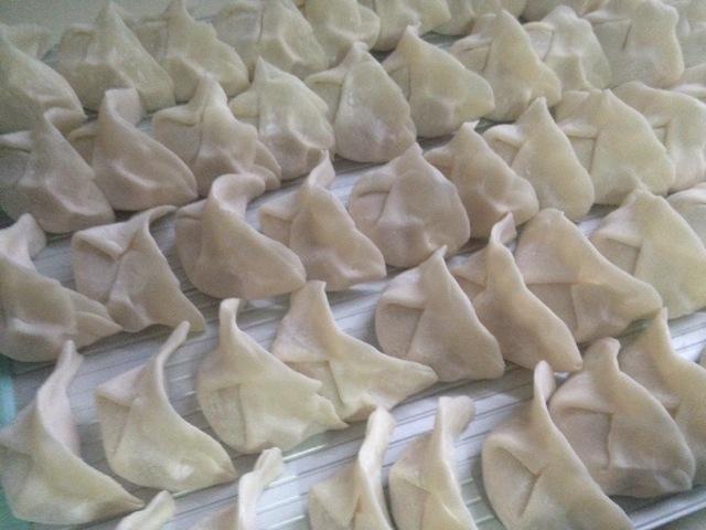 莲藕饺子的做法步骤
