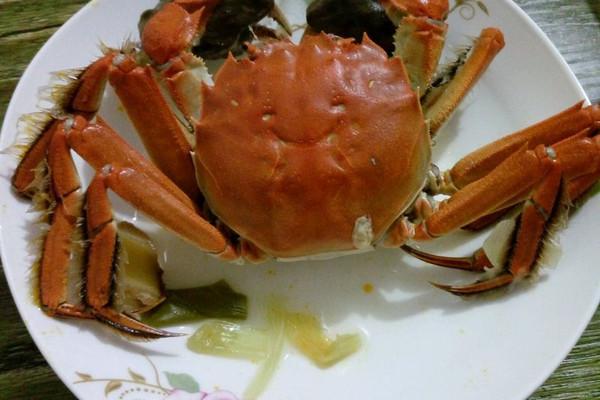 清煮螃蟹的做法