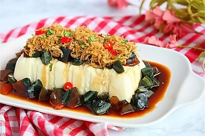 肉松皮蛋豆腐