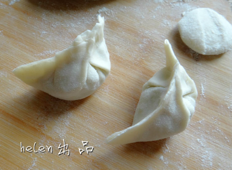包饺子的做法步骤 5.