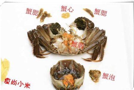 咸蛋黄炒蟹的做法图解3