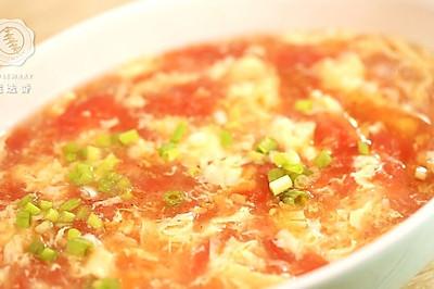 西红柿鸡蛋汤—迷迭香