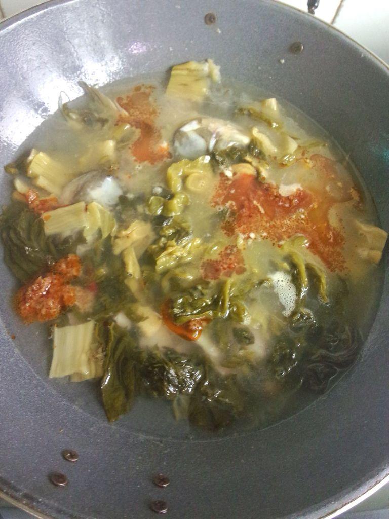 酸菜鱼的做法图解10