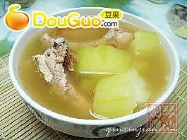 节瓜蜜枣排骨汤的做法