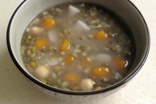 芋圆绿豆汤 消暑利器的做法步骤