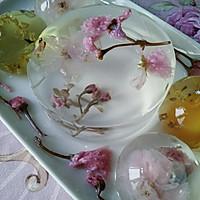 花之语水晶玄饼(可以吃的茶冻。美的不忍下口)的做法图解14