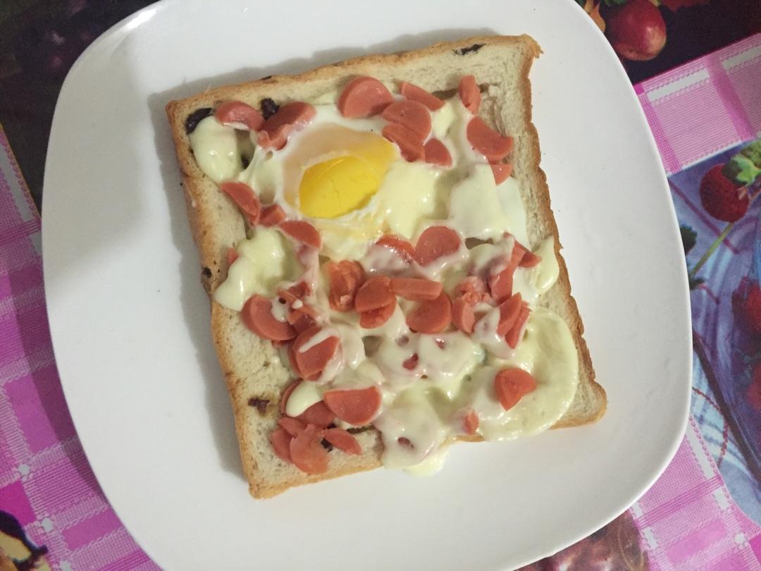 奶酪吐司的做法图解1