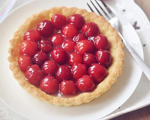 香甜樱桃派