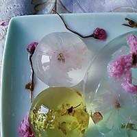 花之语水晶玄饼(可以吃的茶冻。美的不忍下口)的做法图解10