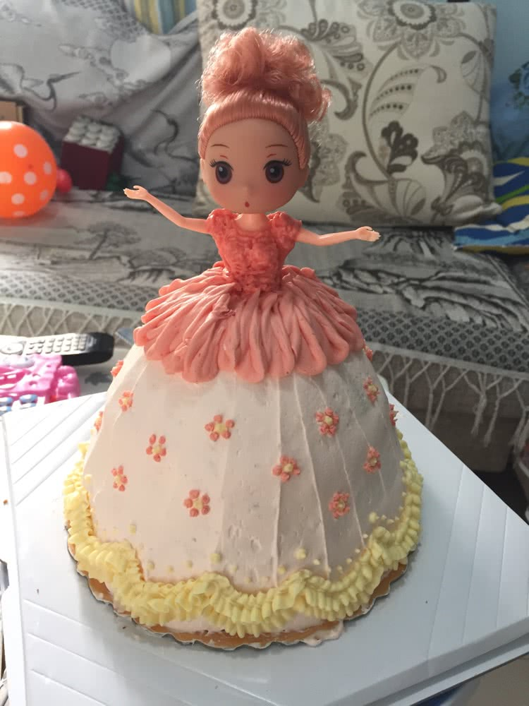 芭比娃娃蛋糕的做法图解9