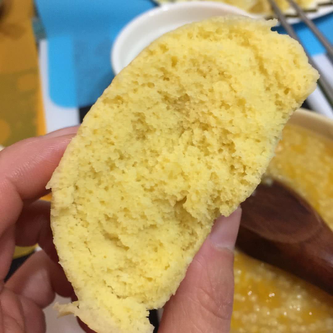 玉米面粗粮馒头的做法图解7