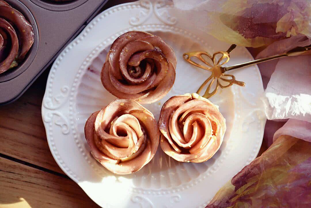 玫瑰苹果塔的做法_【图解】玫瑰苹果塔怎么做如何做