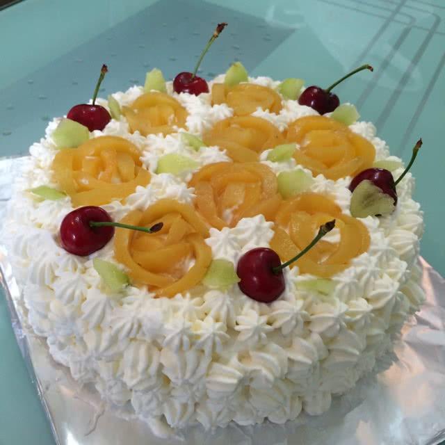 水果生日蛋糕的做法图解6