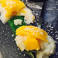 香糯椰汁芒果饭#铁釜烧饭就是香#