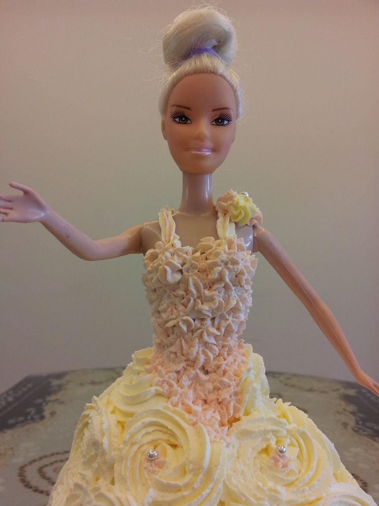 辅料   安佳奶油500克 糖珠20颗 芭比娃娃蛋糕的做法步骤 分类