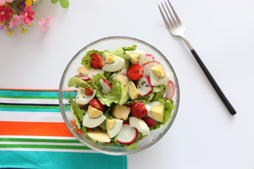 果蔬沙拉的做法_【图解】果蔬沙拉怎么做如何做好吃-怎么制作简单的