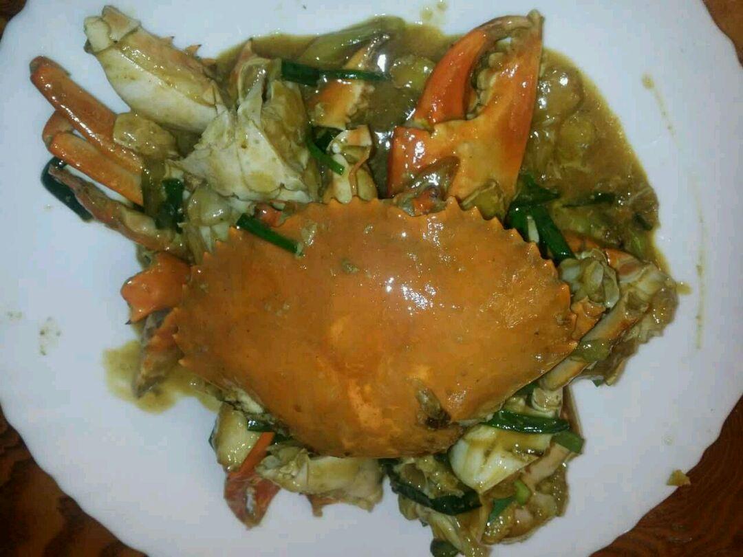 姜葱炒糕蟹的做法_【图解】姜葱炒糕蟹怎么做如何做