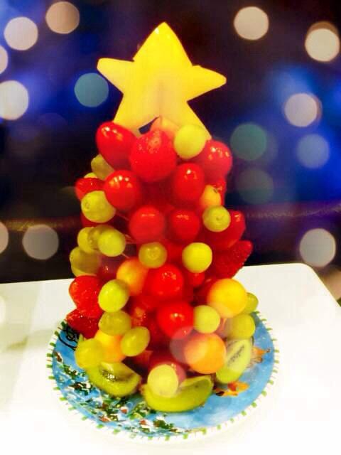 水果圣诞树的做法_【图解】水果圣诞树怎么做如何做