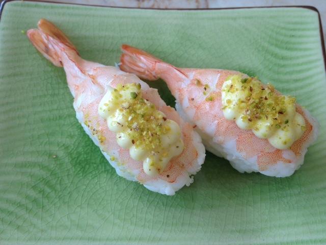 芝士虾寿司的做法图解2