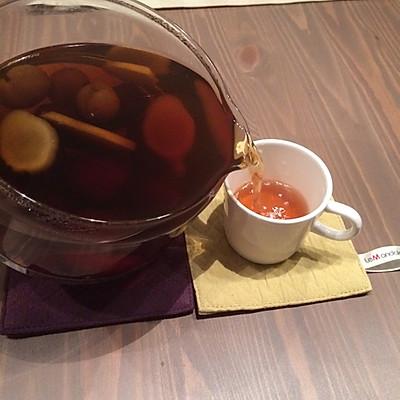 红枣桂圆姜汤茶的做法