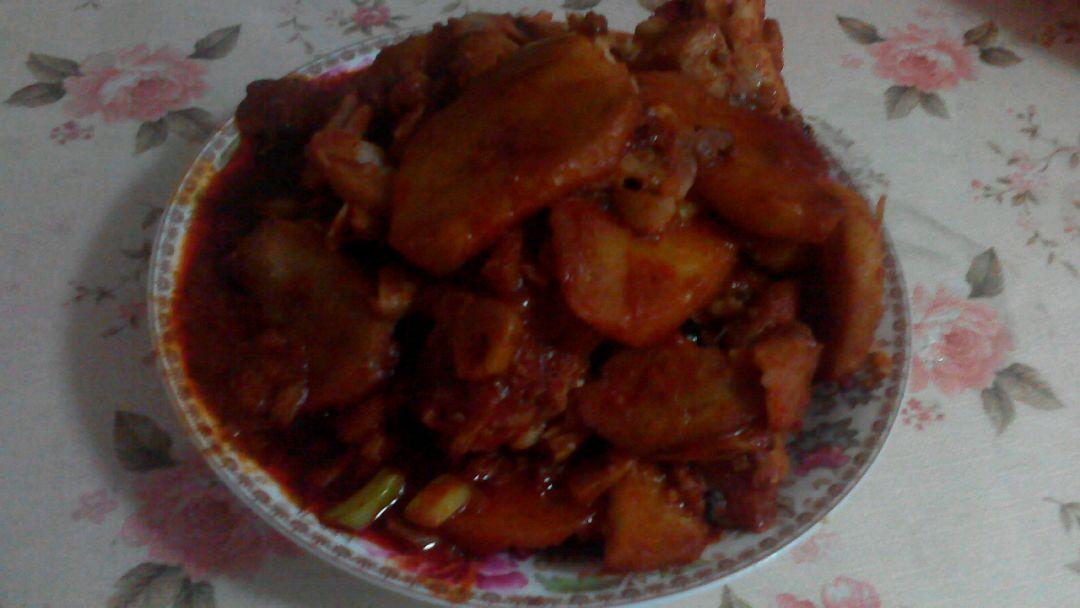 韩式土豆鳕鱼图片