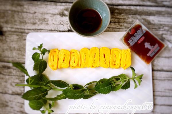 日式厚蛋烧#丘比沙拉汁#的做法