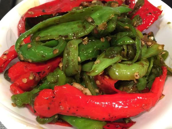 油淋辣椒的做法_【图解】油淋辣椒怎么做好吃_油淋