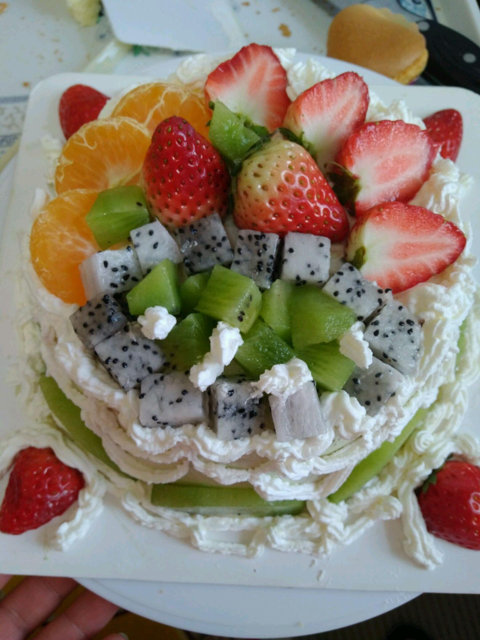 水果蛋糕的做法图解10