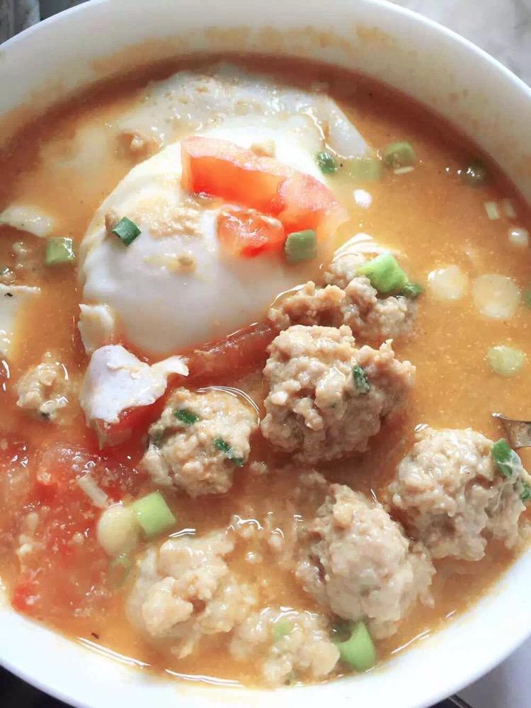 番茄丸子汤_西红柿丸子汤