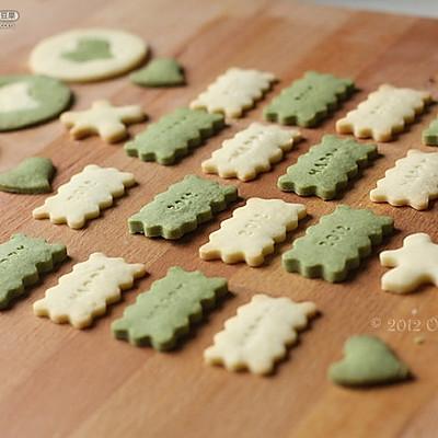 使用不同的饼干刻模制做出各种或可爱或有趣的造型