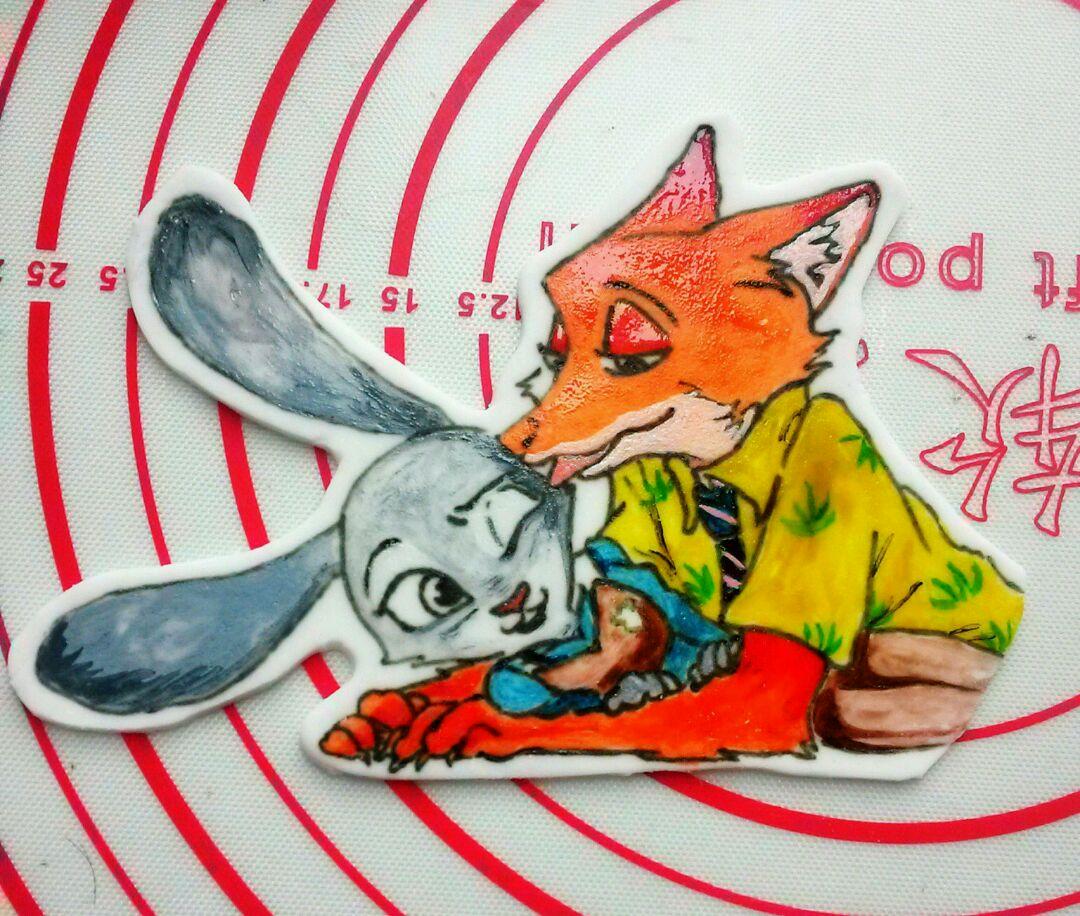 疯狂动物城#尼克与 朱迪