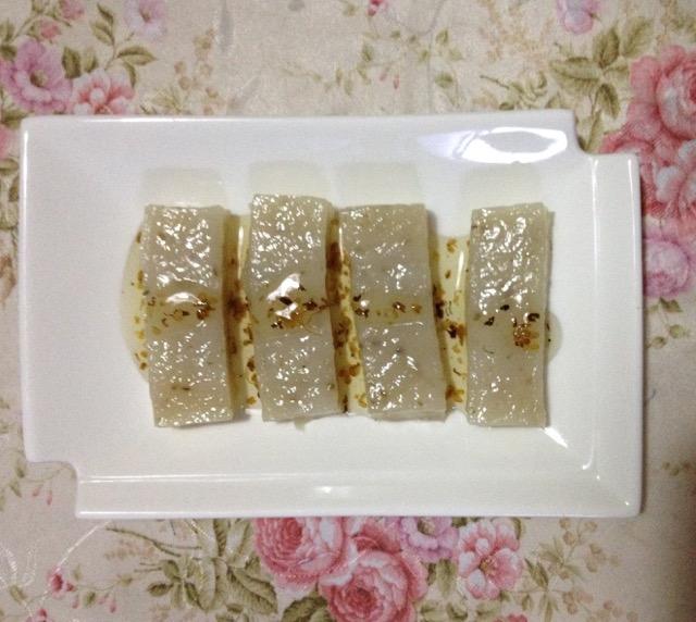 藕粉桂花糕的做法_【图解】藕粉桂花糕怎么做如何做