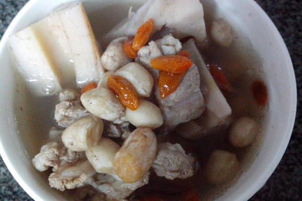 莲藕菜谱排骨汤教程花生原则平衡食谱全面适量图片