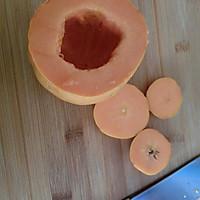木瓜椰奶冻的做法图解1