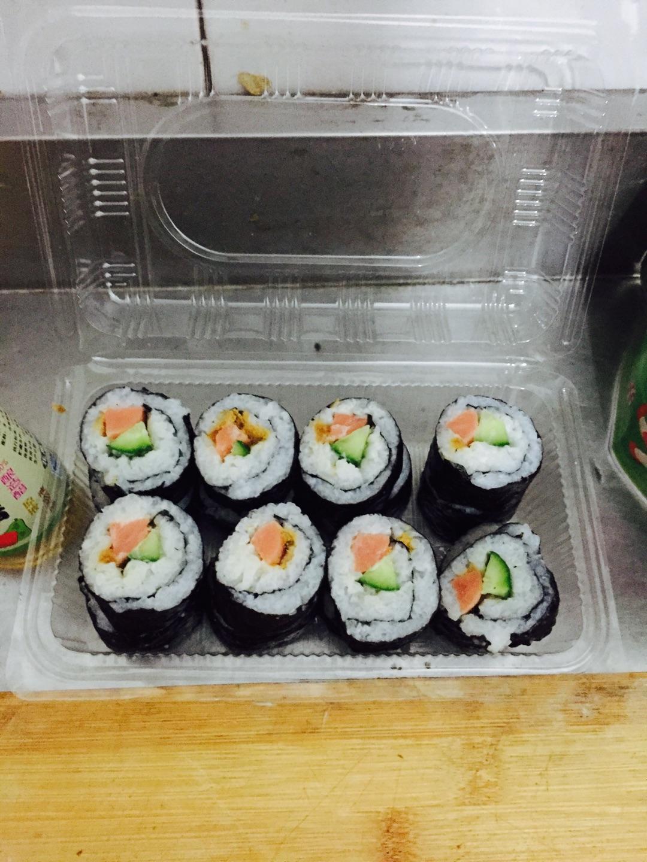 寿司,简单版的做法图解2